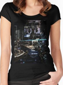 Future Shock Women's Fitted Scoop T-Shirt