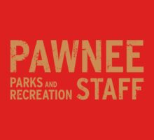 Pawnee Parks & Recreation Department Staff Shirt by erbeining