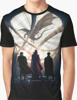 Benedict Cumberbatch 4 iconic characters by lichtblickpink Graphic T-Shirt