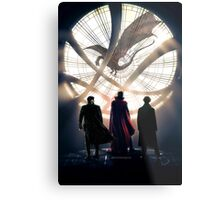 Benedict Cumberbatch 4 iconic characters by lichtblickpink Metal Print