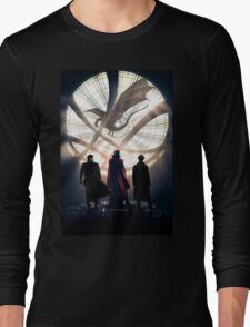 Benedict Cumberbatch 4 iconic characters by lichtblickpink Long Sleeve T-Shirt