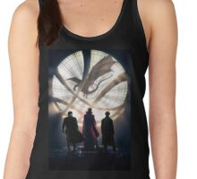 Benedict Cumberbatch 4 iconic characters by lichtblickpink Women's Tank Top
