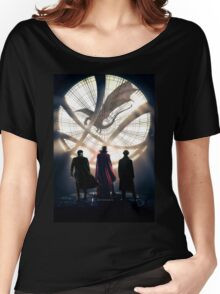 Benedict Cumberbatch 4 iconic characters Women's Relaxed Fit T-Shirt