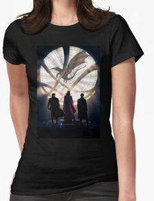 Benedict Cumberbatch 4 iconic characters by lichtblickpink Womens Fitted T-Shirt