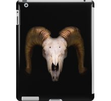 Scary Skull in the Darkness iPad Case/Skin