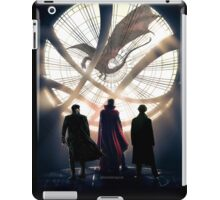 Benedict Cumberbatch 4 iconic characters by lichtblickpink iPad Case/Skin