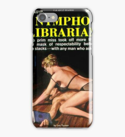 Nympho Librarian iPhone Case/Skin