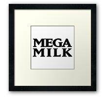 Mega Milk Framed Print