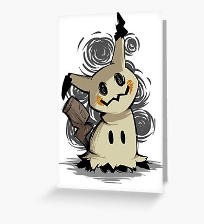 Mimikyu Greeting Card