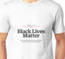 Black Live Matter- The Short List No.4 Unisex T-Shirt