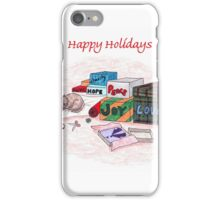 Happy Holidays iPhone Case/Skin