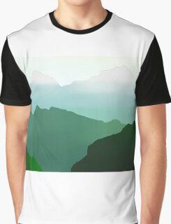 Mountain Range Graphic T-Shirt