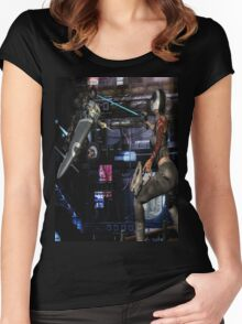 Future Shock 2 Women's Fitted Scoop T-Shirt