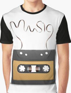 Audio tape retro music Graphic T-Shirt