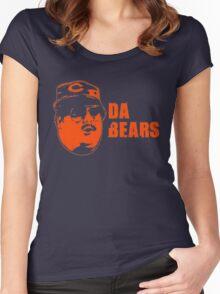 DA BEARS Chicago bears shirt funny Women's Fitted Scoop T-Shirt
