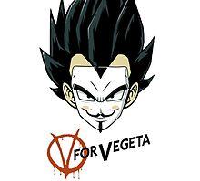 V for Vegeta by Nahual6