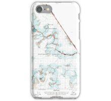 USGS TOPO Map Alaska AK Sumdum B-2 359370 2000 63360 iPhone Case/Skin
