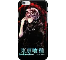 kaneki in distress iPhone Case/Skin