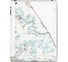 USGS TOPO Map Alaska AK Sumdum B-2 359370 2000 63360 iPad Case/Skin