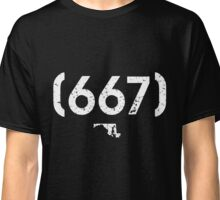 Area Code 667 Maryland Classic T-Shirt