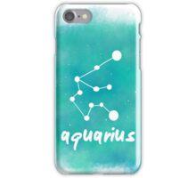 Aquarius Constellation iPhone Case/Skin