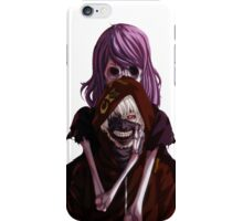 kaneki and rize subversa iPhone Case/Skin