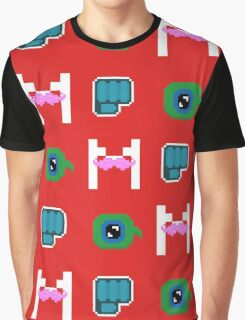 Youtuber Pixel Art (Jacksepticeye, Pewdiepie and Markiplier) Graphic T-Shirt