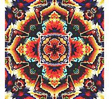 Geometric Motif Photographic Print