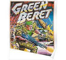 Konami Green Beret Video Game  Poster