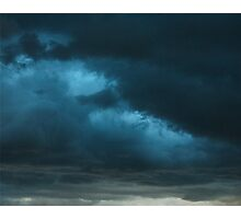 Storm Front~ Tryptic Image 1 Photographic Print
