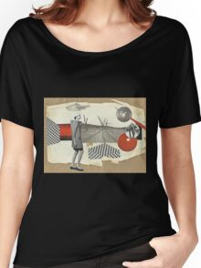 On the way to red planet Women's Relaxed Fit T-Shirt