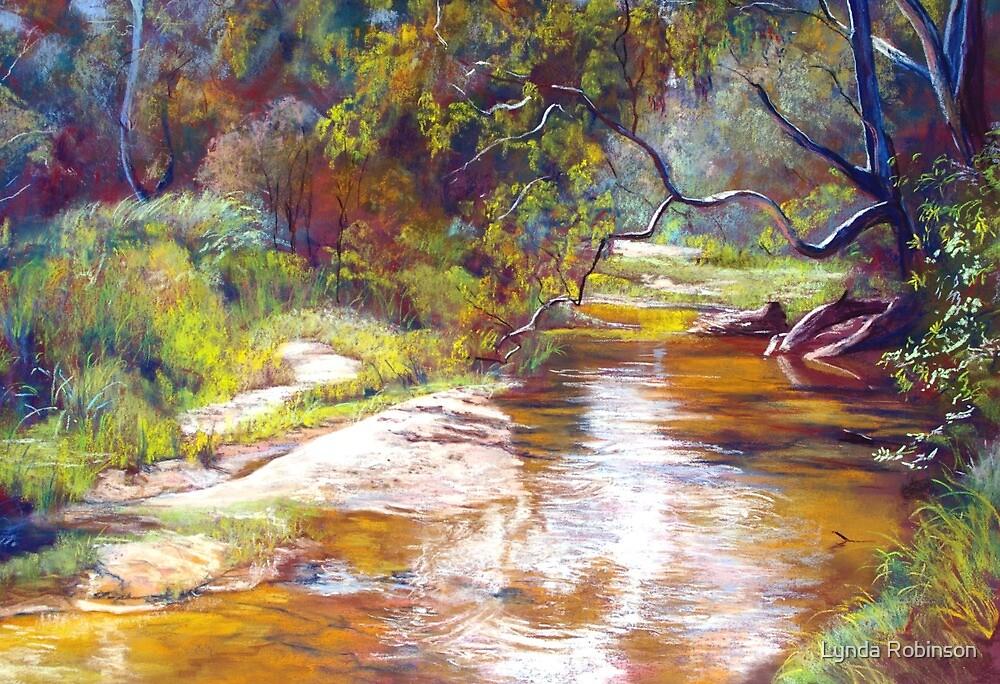 Hughes Creek, Avenel by Lynda Robinson