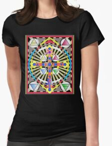 THE GOLDEN DAWN 333 Womens Fitted T-Shirt