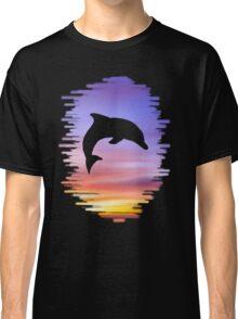 Sunset Dolphin Classic T-Shirt