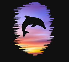 Sunset Dolphin Unisex T-Shirt
