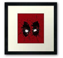 Dead Mask Framed Print
