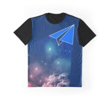 PAPER PLANE DREAM Graphic T-Shirt