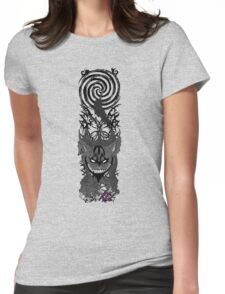 American McGee's cheshire cat Womens Fitted T-Shirt