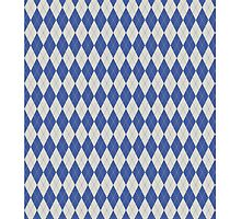 Blue Argyle Pattern by Jeff East