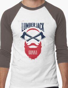 Lumber Jack Gonna Men's Baseball ¾ T-Shirt