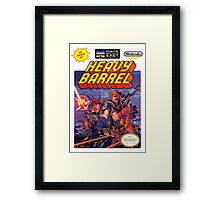 NES Heavy Barrel Framed Print