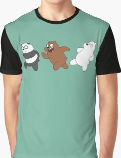 Bears Sneaking Graphic T-Shirt