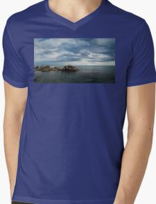 Seascape III Mens V-Neck T-Shirt