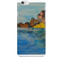 Swimming with Dog iPhone Case/Skin