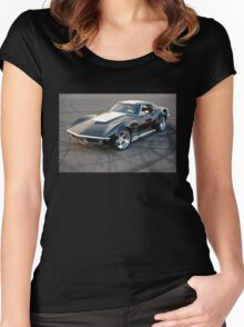 American Muscle Women's Fitted Scoop T-Shirt