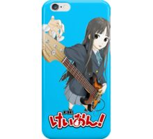 k-on guitar tuning iPhone Case/Skin