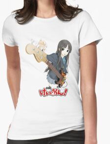 k-on guitar tuning Womens Fitted T-Shirt