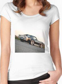 Wheels Women's Fitted Scoop T-Shirt