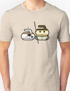 8 Ender & The Scavenger - Curling Rockers Unisex T-Shirt