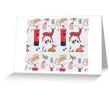 Christmasy Wildlife Greeting Card